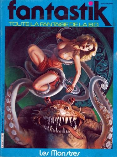 Fantastik n°17 (couverture de Rowena Morrill)