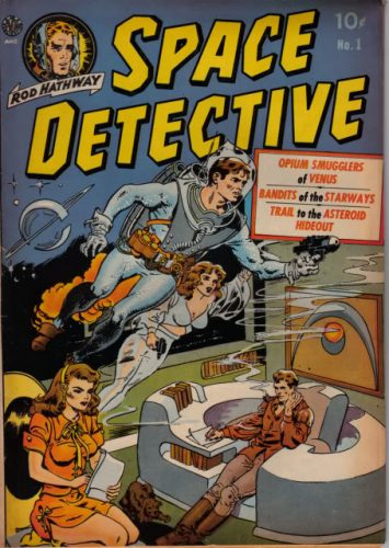 Wallace Wood, Space Detective n°1 (Avon, 1951)
