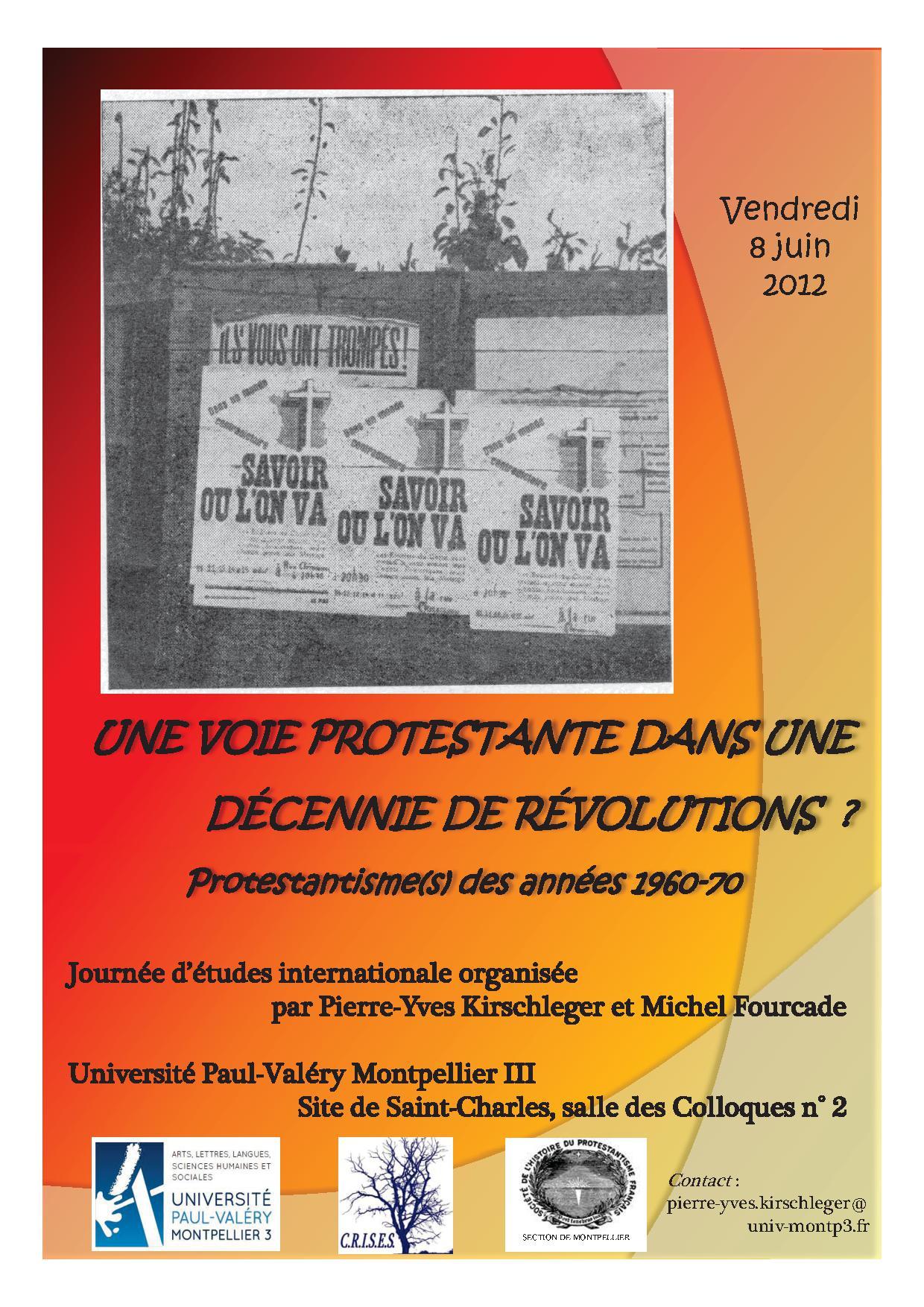 Protestantisme 8 juin