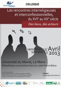 Rencontres interreligieuses - Le Mans
