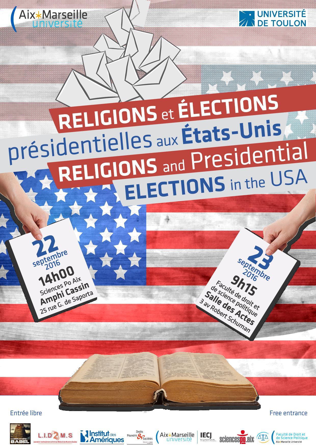 Colloque international le facteur religieux dans les lections pr sidentielles am ricaines - Election presidentielle etats unis ...