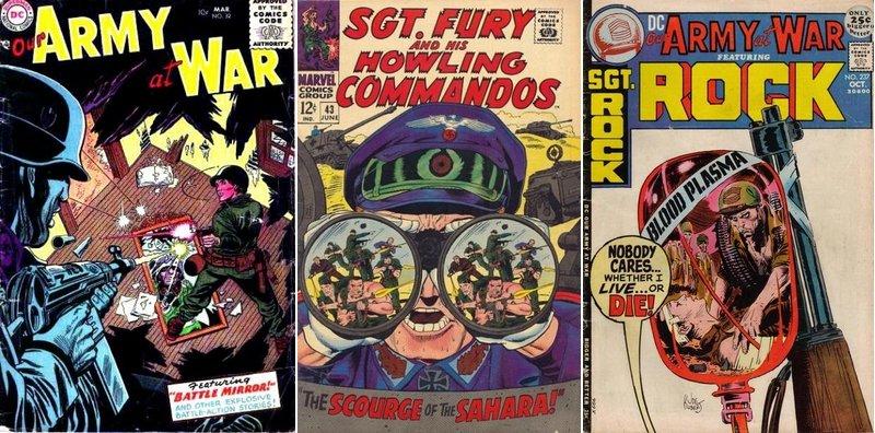 Les st r otypes visuels dans les war comics d j vu for Miroir western
