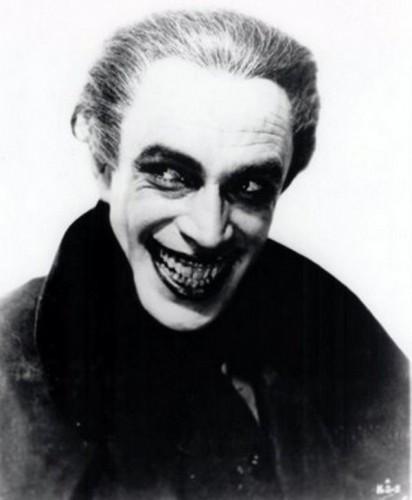 Conrad Veidt dans The Man Who Laughs (Paul Leni, 1928)