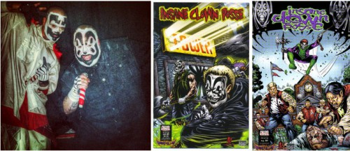 Le groupe Insane Clown Posse (ICP) sur scène, circa 2000 / Insane Clown Posse - The Pendulum #1, January 2000 / Insane Clown Posse - The Pendulum #10, August 2001