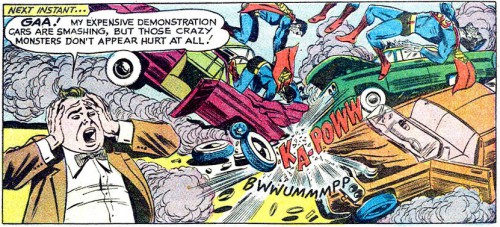 Tales of the Bizarro World, Script by Jerry Siegel, Art by John Forte, Adventure Comics #291, December 1961