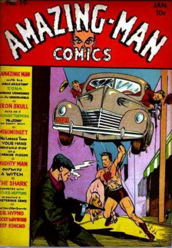 Amazing-Man Comics #19, January 1941