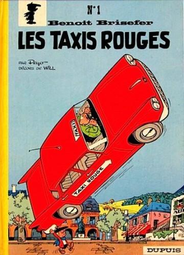 Benoît Brisefer - Les Taxis rouges, par Peyo, 1962