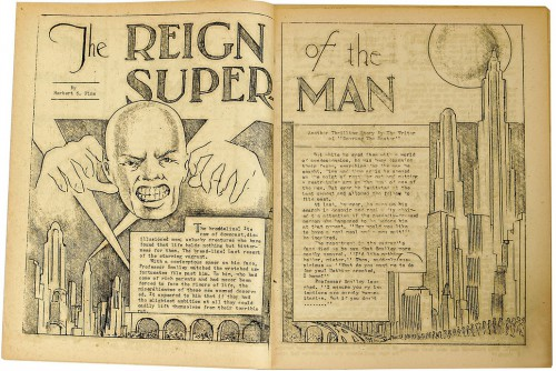 The Reign of the Superman, Science Fiction: The Advance Guard of Future Civilization #3, January 1933