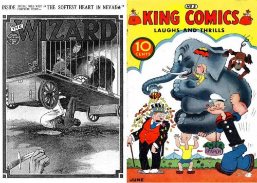 The Wizard #609 [UK], August 4, 1934 / King Comics #3, David McKay, 1936 Series