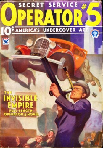 Operator Five v1 #2, May 1934