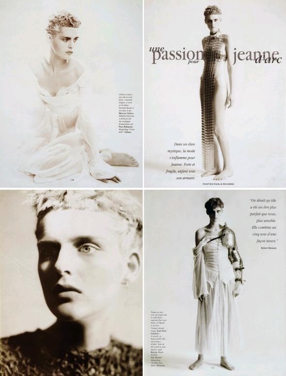 Une passion pour Jeanne d'Arc, Vogue Paris, Février 1994