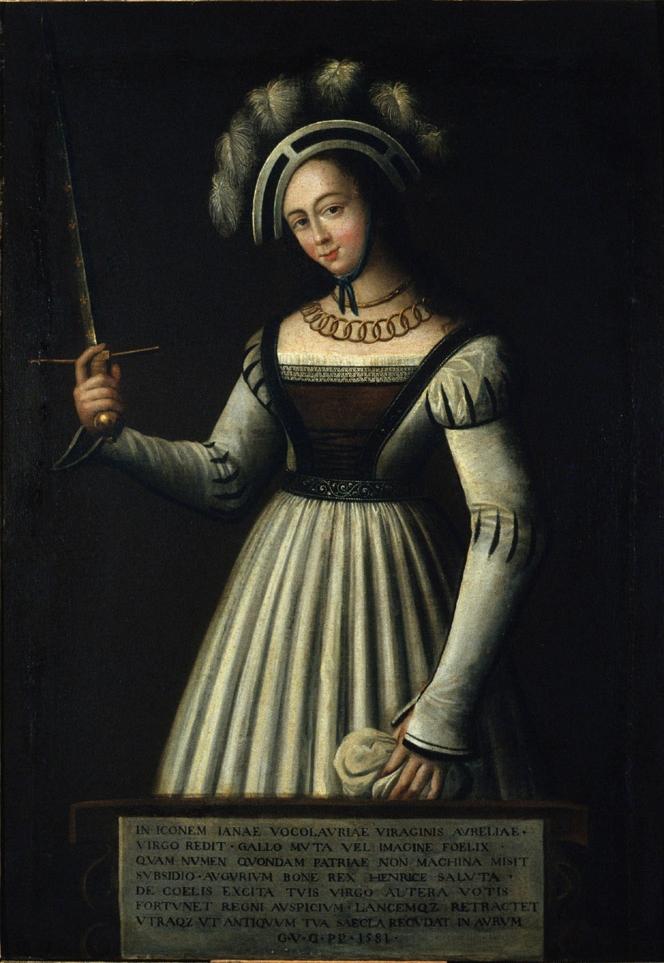 Jeanne d'Arc, Tableau dit des échevins, Orléans, 1581