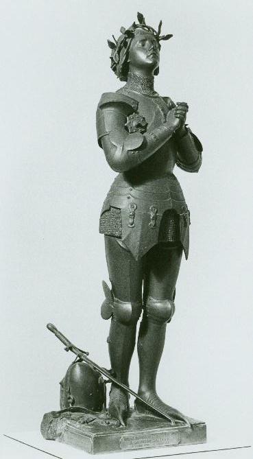 Joan of Arc - Jeanne d'Arc, sculpteur Antonin Mercié, circa 1895, Annapolis, Maryland, U.S. Naval Academy Museum