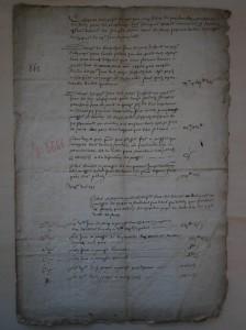 Inventaire par les catholiques de Notre-Dame de Rouen, 1562, ADSM, G 3666.