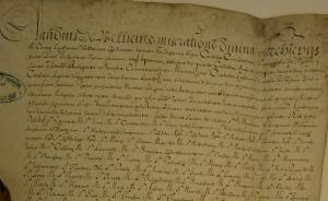 ADR, 16H16 Inventaires des Minimes de Lyon, 1607.