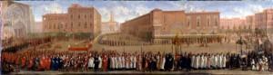 Jean II Michel, La procession des corps saints à Toulouse, vers 1700