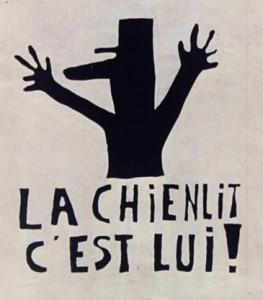 Affiche de Mai68, par l'atelier de l'Ecole des Beaux-Arts de Paris.