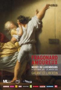 Figure 3. Affiche de l'exposition « Fragonard amoureux » du Musée du Luxembourg, 16 septembre 2015-24 janvier 2016