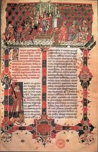 Leges Palatinae Prachthandschrift