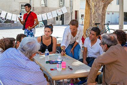 Accompagner pour mieux analyser l'accord de Paris: Artivstes'Climate Tour