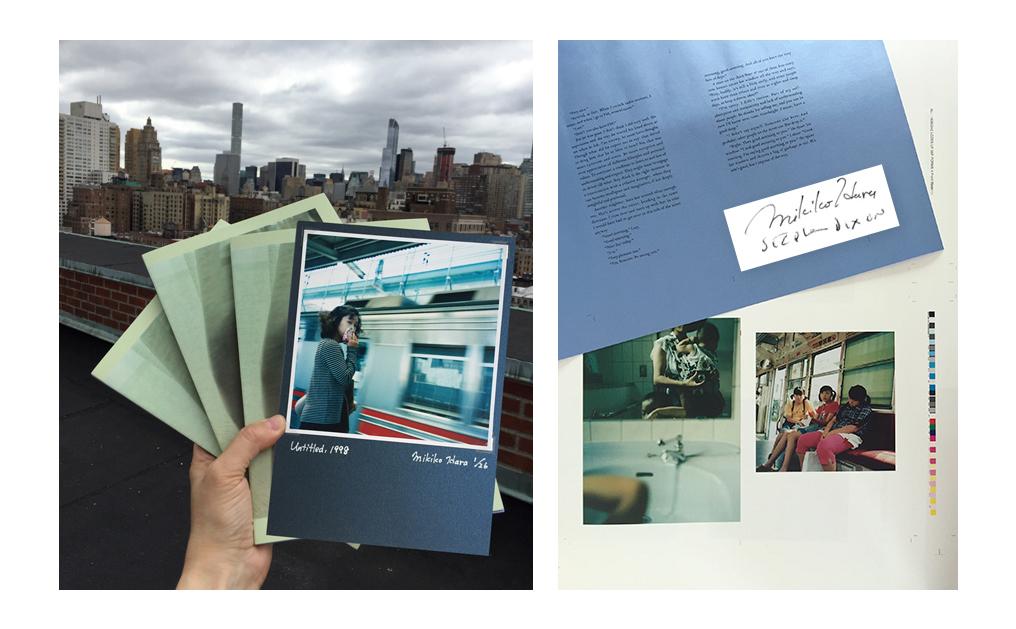 Photographie de Mikiko Hara et « Change », The Gould Collection Series, 2016