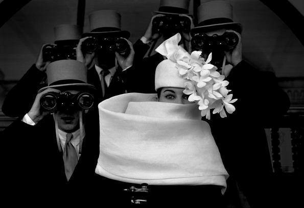 Frank Horvat, Givenchy Hat II, 1958