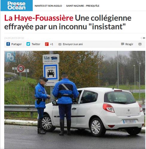 Gendarmes.Presse Océan-24-09-2015