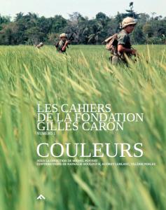 Cahiers-Fondation-Caron_Couleur n°1.