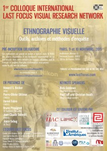 FR 1st LFVRN 2015 - Visual Ethnography Conference
