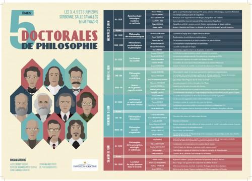 Doctorales 2015-Programme