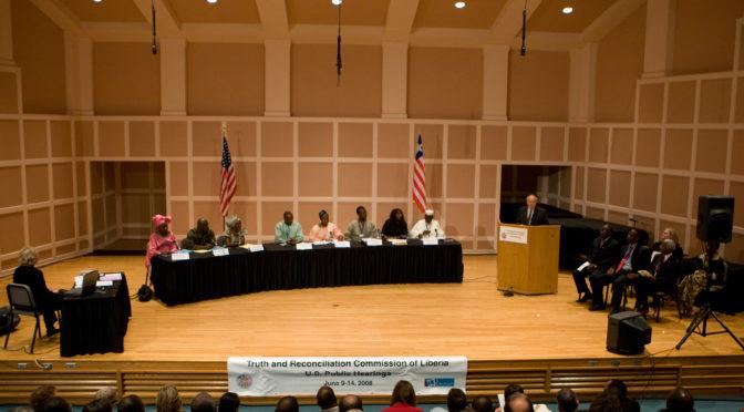 Préserver les criminels de guerre sans le vouloir : la Commission Vérité et Réconciliation au Libéria face à ses contradictions