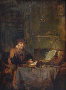 a_scholar_in_his_studio_-_gerbrand_van_den_eeckhout