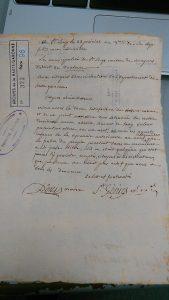 La vision des brigands politiques par les autorités, archives dép. de la Haute-Garonne, 1 L 372 98