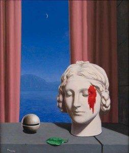 CC, la mémoire, Magritte, 1948
