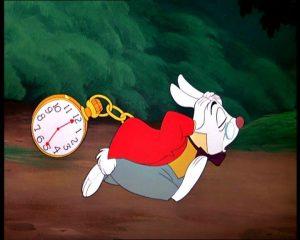 Moi face au temps, Tous droits réservés Walt Disney
