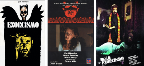 Affiches multiples d'Exorcismo