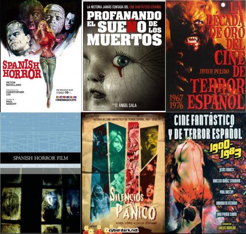 La bibliographie disponible sur le cinéma fantastique et d'horreur espagnol.