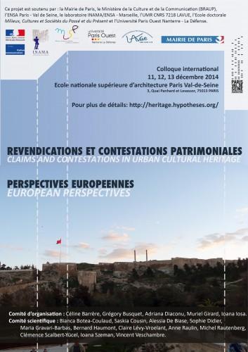 Revendications et contestations patrimoniales, perspectives européennes