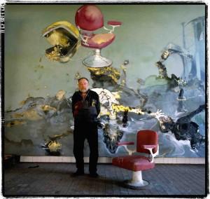 Gérard Rondeau, Paul Reyberolle, atelier de Boudreville, 1988