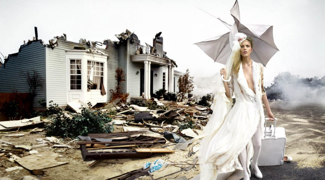 David Lachapelle, When the world is through, 2005, Photographie