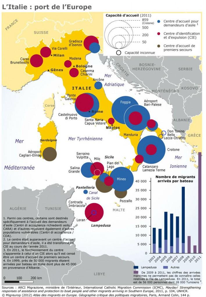Carte l italie port de l europe 2012 enigmur - Distance en milles nautiques entre 2 ports ...