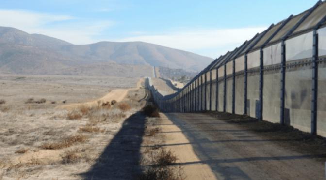 """Damien Simonneau, """"Le « mur » de Trump est déjà là"""", theconversation.com, 29/01/2017"""