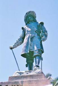 Van Riebeeck-Heerengracht street Une statue contestée