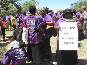 Stop the war on women's bodies 1