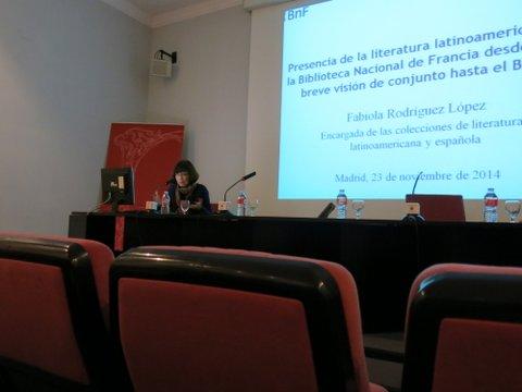 Escritores latinoamericanos en la BNF