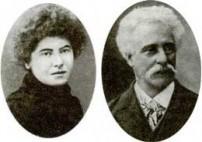 Laura Marx y Paul Lafargue