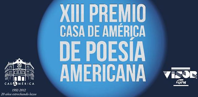 Premio Casa de América de Poesía Americana