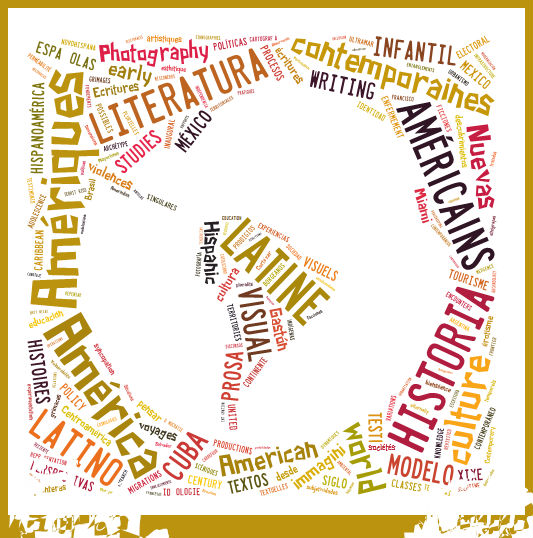 Mapa elaborado con las palabras contenidas en los dossieres de las revistas en 2015