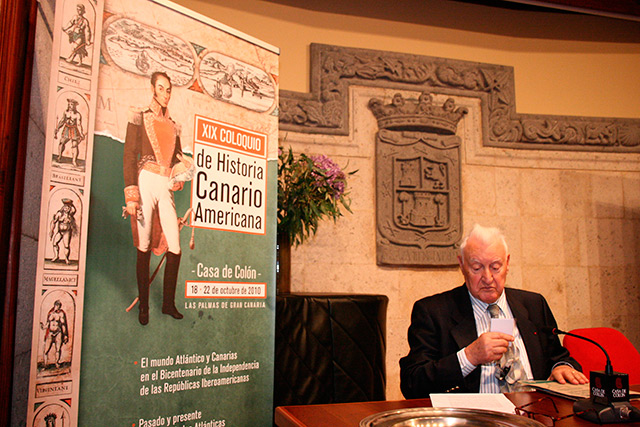 Joseph Pérez coloquio historia canario-americana casa colón