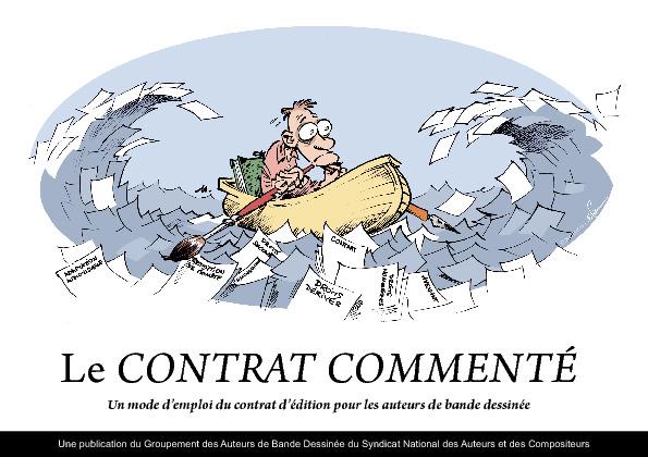le contrat comment u00e9  en bd